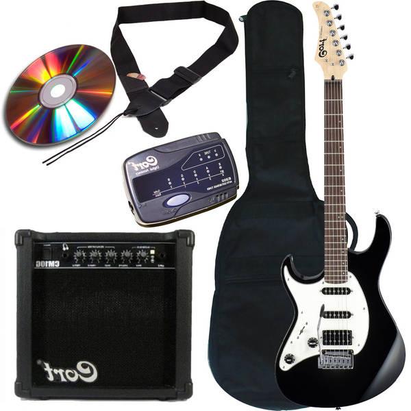 guitare electrique verte