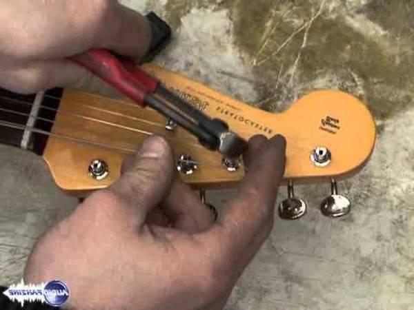 changer corde guitare electrique