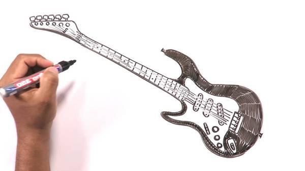 guitare electrique en kit