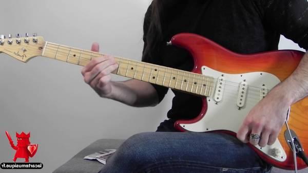 guitare electrique gaucher