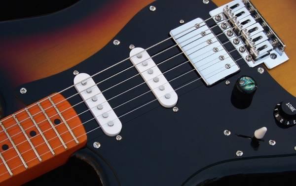 forme guitare electrique