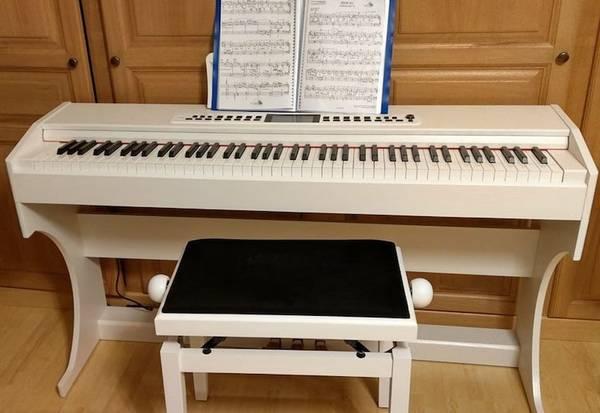 piano numérique meuble