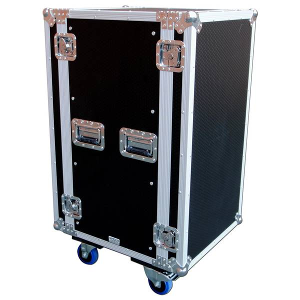 Pedalboard flight case with wheels - Code promo