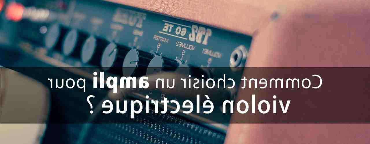 Quel ampli pour un clavier ?