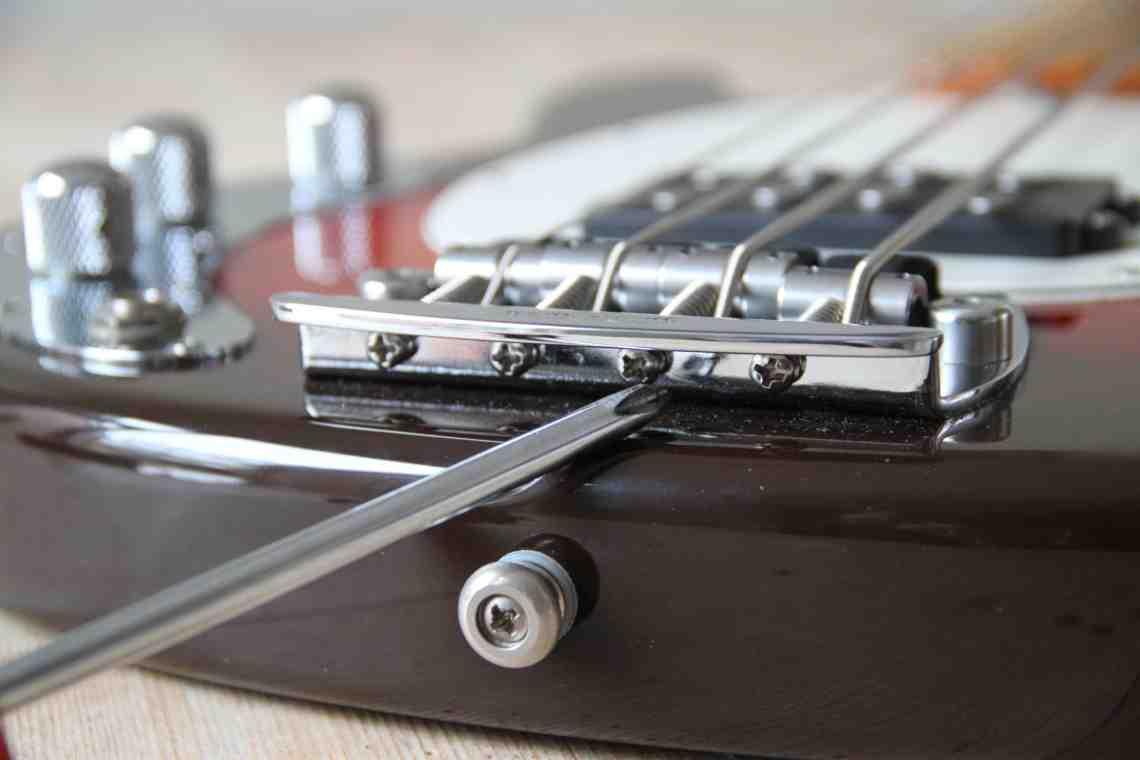 Comment régler une guitare basse ?