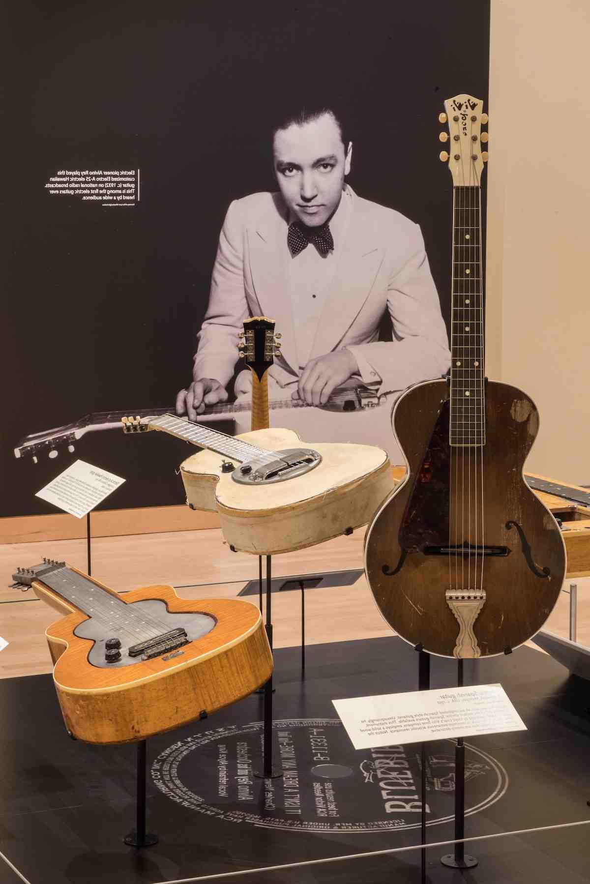 Quand a été inventé la guitare électrique ?